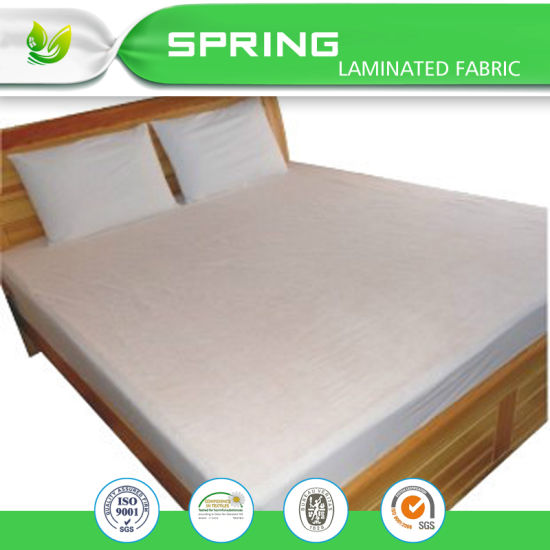 Anti Bacterial Queen Size Waterproof Washable Mattress Protector Cover Sheet