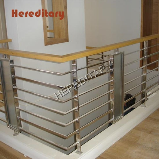China Floor To Ceiling Stainless Steel Stair Railings For Modern | Stair Railing Designs Interior | Exterior | Creative | Antique | Scandinavian | Rod Iron