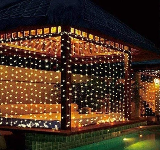 china 300 led fairy lights curtains
