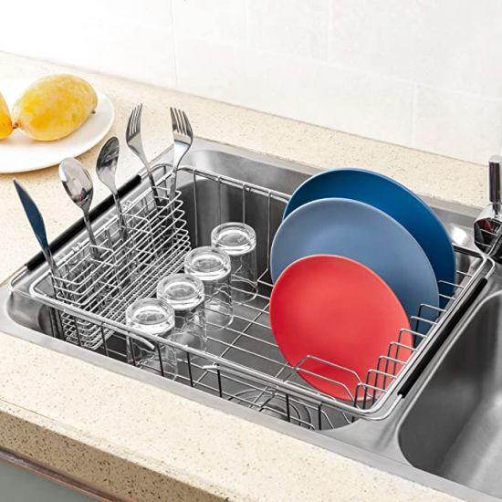 expandable dish drying rack 304