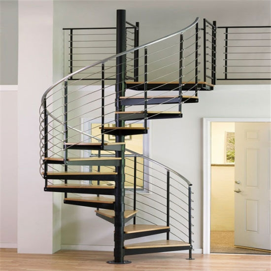 China Exterior Carbon Steel Tread Metal Spiral Staircase China | External Spiral Staircase For Sale | Stair Treads | Staircase Ideas | Steel Spiral | Metal Spiral | Staircase Railings
