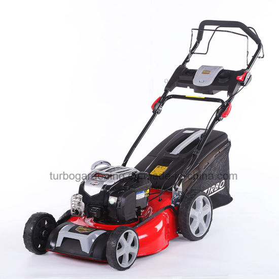 China High Quality 20 Inch Self Propelled Lawn Mower With Briggs Stratton Engine China Lawn Mower And Self Propelled Price