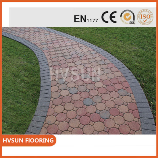 colorful non slip outdoor tile for