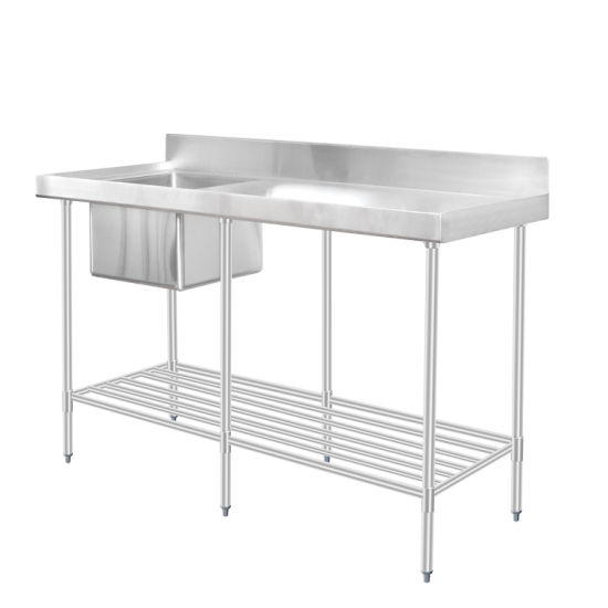 single bowl school canteen stainless