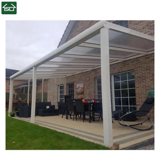 china steel aluminum patio roof canopy