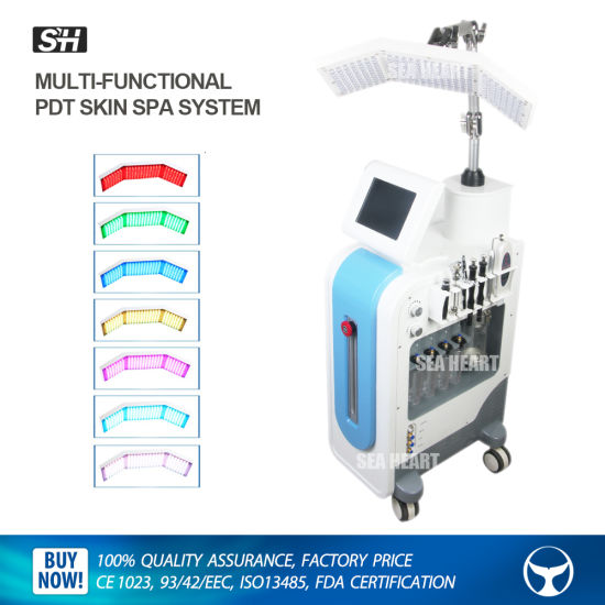 7 In 1 Hydro Dermabrasion Diamond Microdermabrasion Machine Pdt Led Photon Therapy Machine