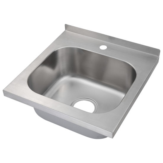 stainless steel commercial hand sink