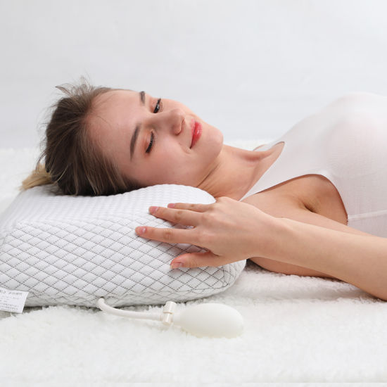 china contour memory foam pillow for