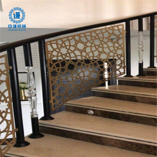 Decorative Aluminum Stair Railing China Decorative Aluminum   Aluminum Stair Railings Interior   Wood   Decorative   Curved Metal   Copper   Cable