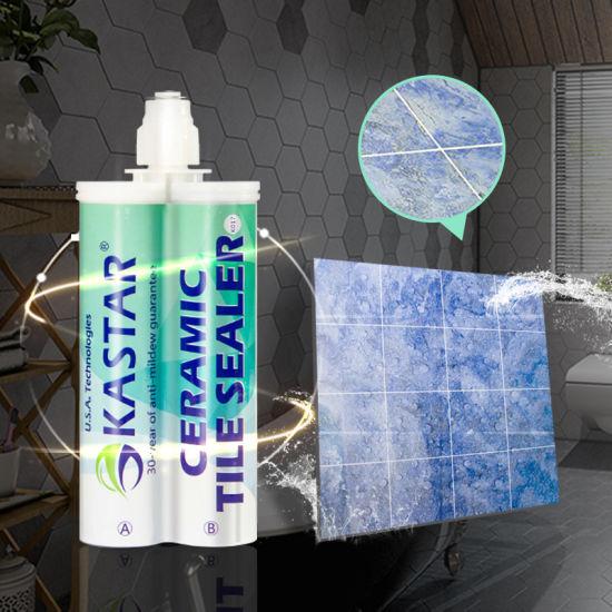 free samples waterproof white outdoor ceramic high gloss tile sealer