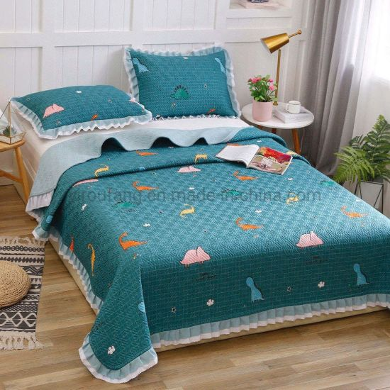 china hotel product yellow bedspread