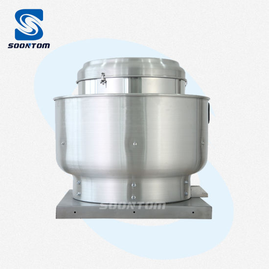 rooftop direct drive roof exhaust fan