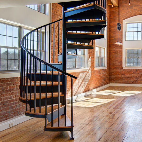 Factory Customized House Low Cost Spiral Stairs For Sale In | Used Spiral Staircase For Sale | 4 Foot | Corkscrew | Contemporary | Steel | Outdoor