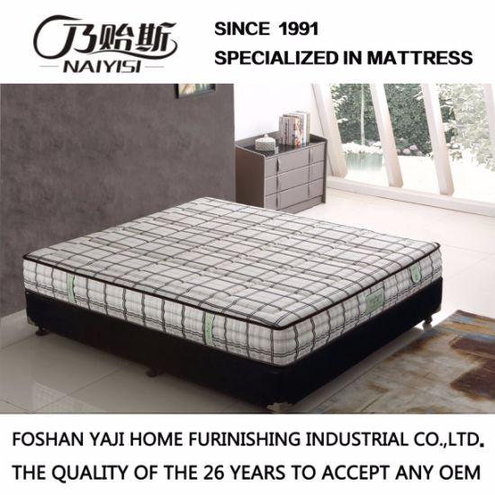 Pock Spring Mattress With Natural Latex For Livingroom G7902