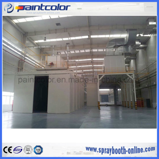 large spray booth with paint booth roof exhaust fan systems with custom design top rank supplier