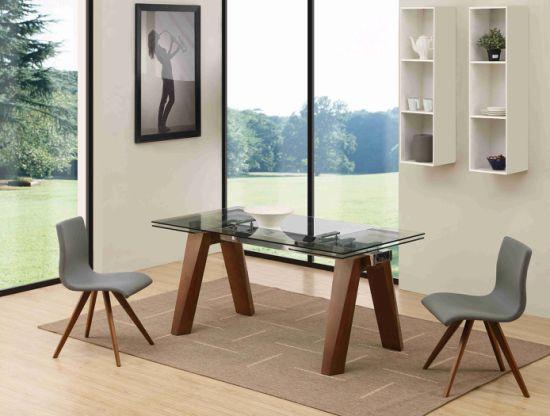 chine extension moderne en bois massif