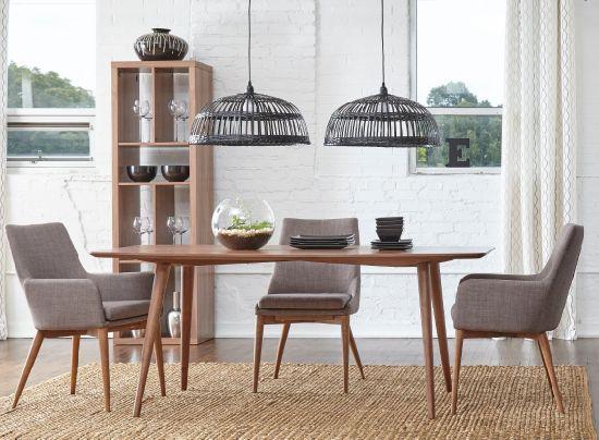 bois massif restaurant chaise