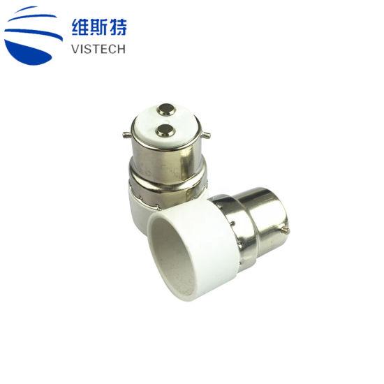 B22 Vers E14 Base Douille Lampe Adaptateur Ampoule Support 5 Pieces Douilles De Lampe Bricolage
