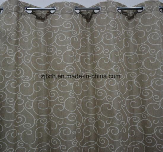 polyester tissu jacquard tissu rideaux