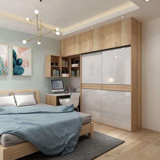 couleur double armoire chambre