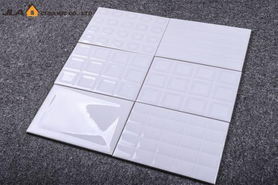 chine 4 8 x7 2 12x18cm blanc brillant