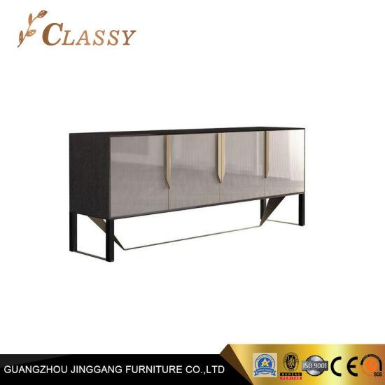 luxe moderne media console meuble tv