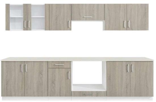 pvc armoire de cuisine en bois