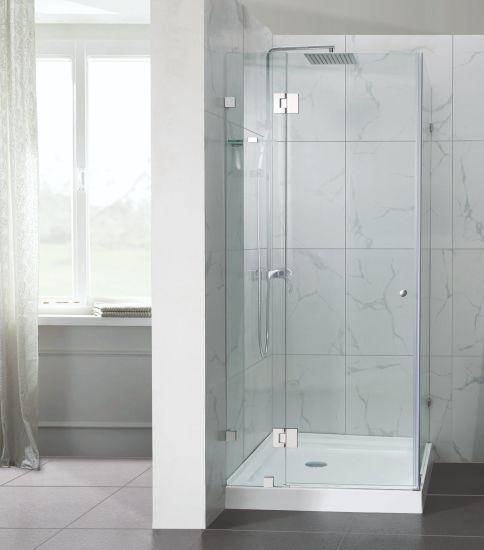 chine boitier de douche sans cadre