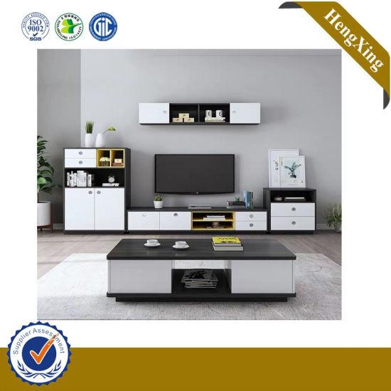 meuble tv design moderne en bois enduit