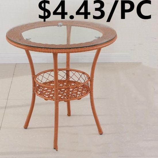 meubles en osier outdoor table chaise