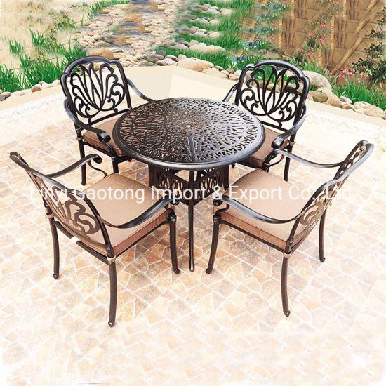 5 pcs jardin patio furnitur