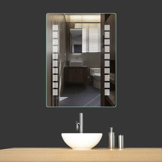 Chine Salle De Bains Miroir Eclaire Led Pour La Decoration De L Hotel Acheter Led Miroir Sur Fr Made In China Com