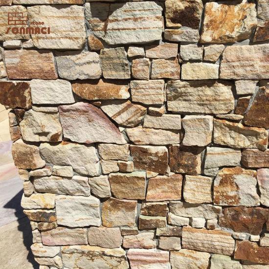 Chine Mur De Pierre De Couleur Beige Naturel De L Ardoise Avec Du Ciment Appuyee Acheter L Ardoise Mur En Pierre Sur Fr Made In China Com