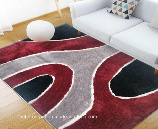 polyester a longs poils shaggy tapis