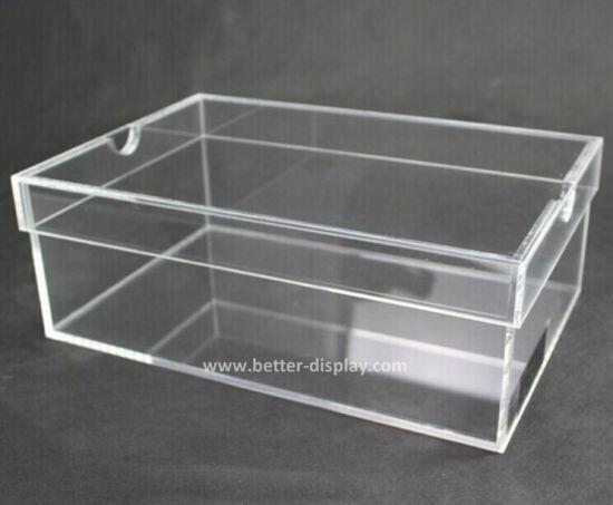 chine en acrylique transparent