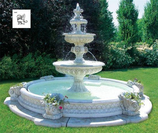 pierre fontaine en marbre mfwg