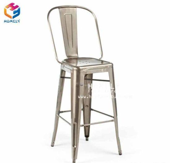 gros haut antique tolix chaise haute