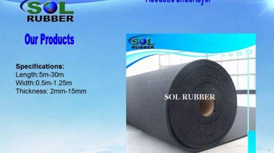 isolation acoustique underlayer tapis