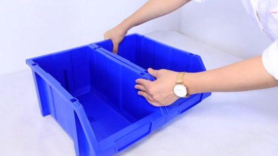 rangement en plastique empilable