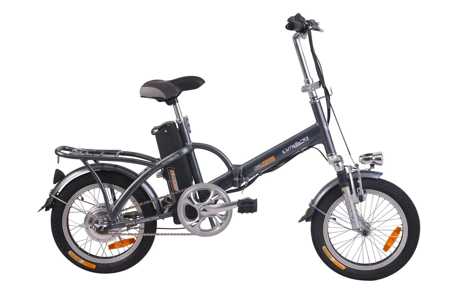 China Folding Electric Bicycle Ln20f04