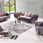 Hot Item Modern Living Room Sectional Sofa Set Furniture For Hotel Lobby