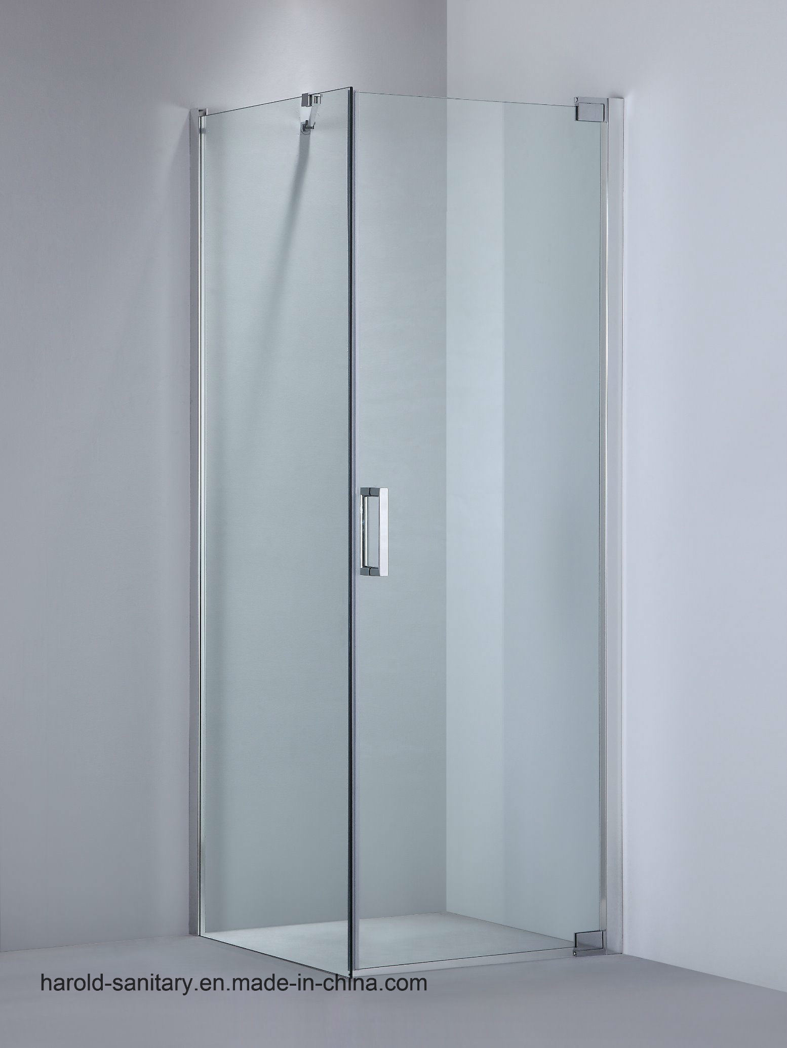 Hot Item Semi Frameless Pivot Hinge Shower Door