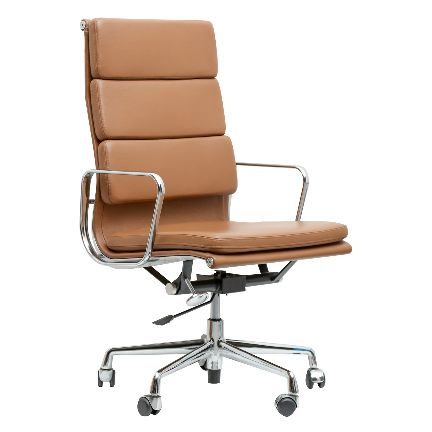 China High Back Best Executive Italian Leather Swivel Office Chair China Leather Wingback Office Chair Brown Leather Office Chair