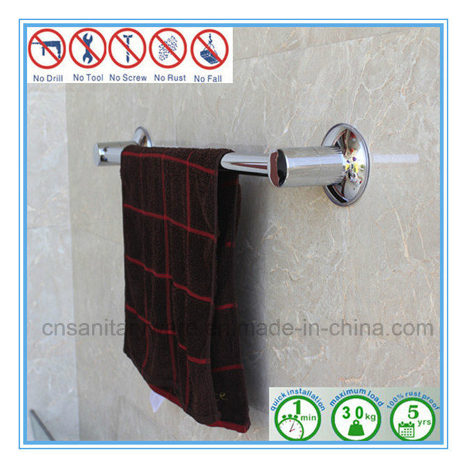 china over shower door towel rack bar