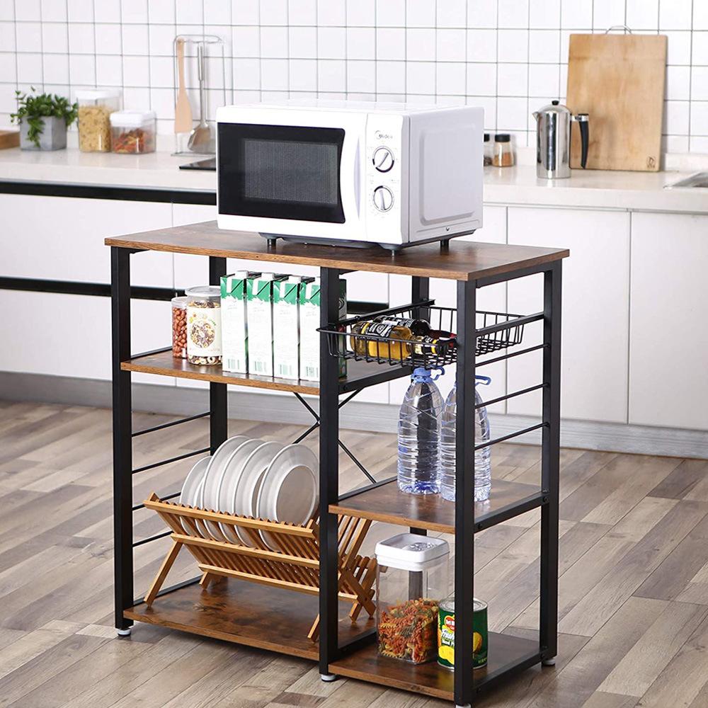 china kitchen baker rack coffee bar