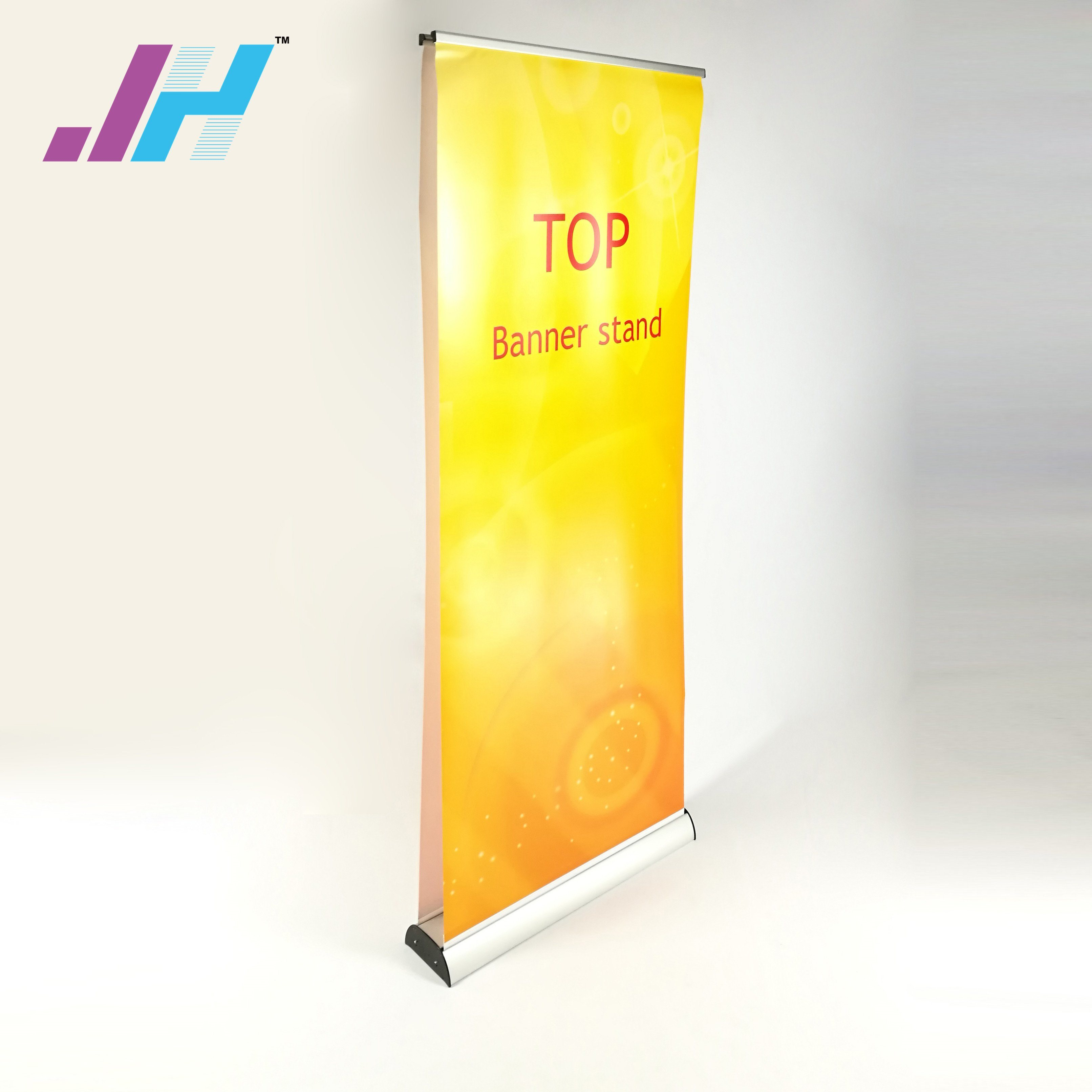 china display stand roll up vertical