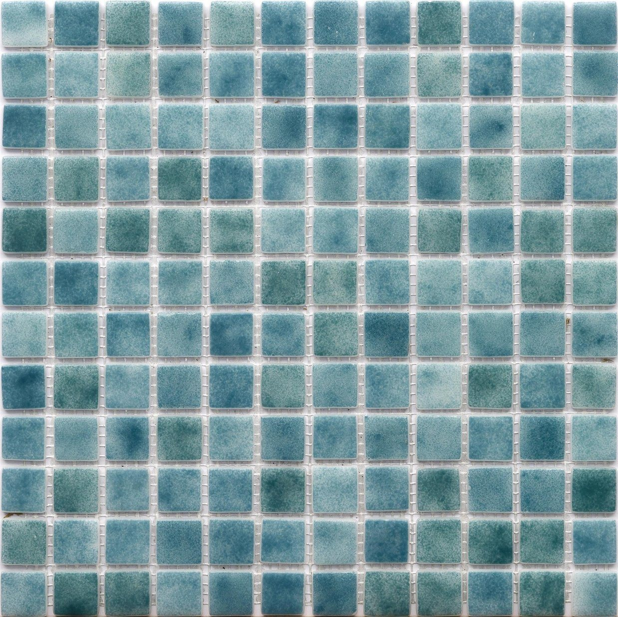hot item gray blue glossy sea glass recycle glass 14 color for choose swimming pool mosaic tiles v425012 b