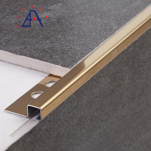 hot item aluminum tile trim outside corner bead metal strip with holes