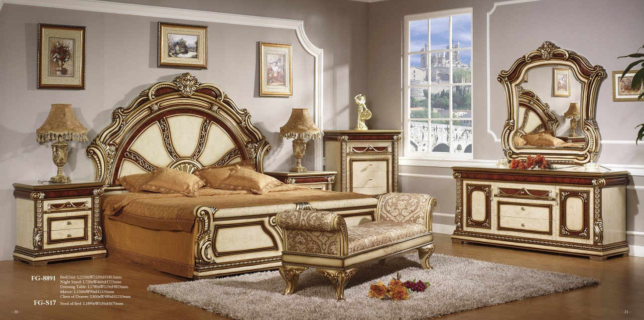 New Style Bedroom Furniture New Arrive Arabic Style Bedroom Furniture Modern Golden R
