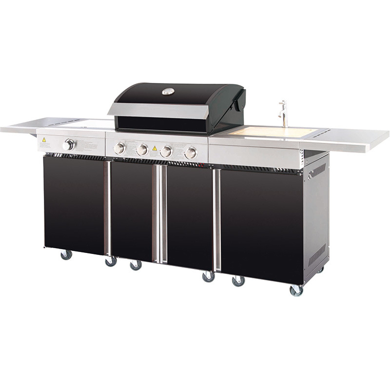 outdoor gas grill barbeque kitchen